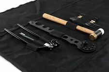 NcStar TGSARKB AR15/M4 13pc Gunsmithing Tool Kit w/Roll-up Cleaning Mat - BLACK