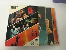 West Side Story Guys and Dolls Fiddler on the Roof 5039036029025 BOX SET DVD