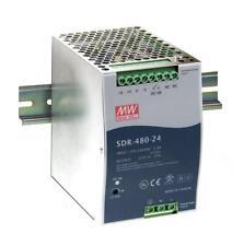 MeanWell SDR-480-24 Schaltnetzteil 24V/20A 480W, neu, originalverpackt