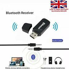 USB Bluetooth Audio Adapter Receiver, TV PC Car AUX Speaker