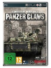 World war II Panzer claws JEU PC NEUF SOUS BLISTER