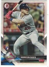 2018 Bowman RC #42 Harrison Bader St. Louis Cardinals ROOKIE