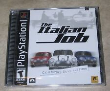 The Italian Job NEW factory sealed black label Sony Playstation PSX PS1