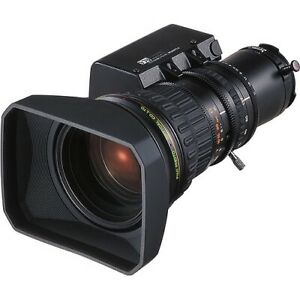 """Fujinon HAs18x7.6BMD 2/3"""" HD Motor Drive Telephoto Video conferencing Zoom Lens"""