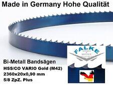 2 Stück Bandsägeblätter COM-BI-HSS/CO VARIO (M42) 2360 mm x 20  x 0,90 mm 5/8