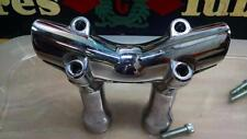 "Harley OEM 55993-08 Fat Handlebar 4"" Risers Black Line softail Bobber custom FXS"