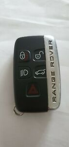 RANGE ROVER 5 Button SMART Key Fob BJ32-15K601-DD 434mhz ID49  HITAG 5E0U40437