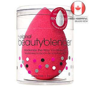 NEW 🇨🇦 Beauty Blender Makeup Sponge Applicator Red 🇨🇦 FAST & FREE