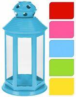 25cm Festival Party Garden Metal Tealight Lantern - Tea Light Candle Holder