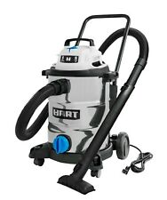 Shop Vac Wet Dry Vacuum 8 Gal 6.0 HP Stainless Steel Locking Attachments New