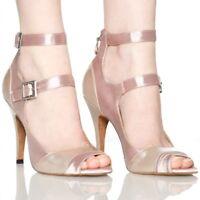 New Womens Ballroom Latin Salsa Tango Lady High Heels Sandal Bachata Dance Shoes