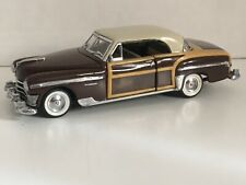 New ListingFranklin Mint Classic Cars of the Fifties 1950 Chrysler Town & Country 1:43 box