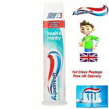Aquafresh Pump 100ml 3 In 1 Family Protection Fresh & Minty 1st Class free Post