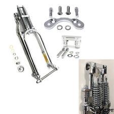 """26"""" Springer Front End Handlebar Adapter 2"""" Riser For Harley Sportster Softail"""