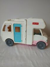 Fisher Price Loving Family Dollhouse 1998 Vacation Camper RV Motorhome