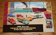 1955 Chevrolet Truck Accessories Sales Brochure 55 Chevy