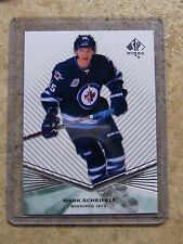 11-12 SPA SP Authentic Extended Rookie RC #R100 MARK SCHEIFELE