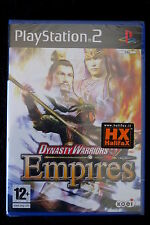 PS2 : DYNASTY WARRIORS 5 EMPIRES - Nuovo, sigillato ! Costruisci il tuo impero !