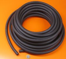 "Santoprene TPE Tubing Shore 64A Black 5/8"" OD x 3/8 ID x 50 Ft Length"