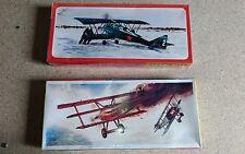 """2 kit di montaggio scala 1:50 della Smer """"Ansaldo Sva 5 + Fokker D.r.i."""""""