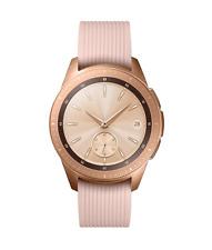 Samsung Galaxy Watch SM-R810 42mm Rose Gold Case Classic Pink Beige Band B Grade