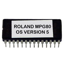 Roland MPG80 Latest OS V 5 Update Upgrade Firmware Eprom MPG-80 MKS-80 Controlle