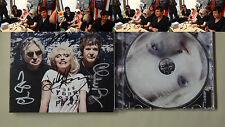 New Signed Blondie Panic of Girls Debbie Harry Chris Stein Clem Burke CD RARE