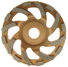 125mm Topfscheibe, Schleiftopf, Schleifteller für Estrich, Beton, Putz,