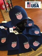 "Team USA Olympic Beanie Hat ""TEAM USA"" Adult One Size ""GO USA"""
