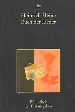 BUCH DER LIEDER - Heinrich Heine (1997 HERAUSGABE)