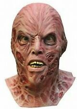 SUPER DELUXE FREDDY MASK Adult Mens Nightmare Elm Street Kreuger Full 68311