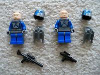 LEGO Star Wars Clone Wars - Rare 2 Mandalorian w/ Weapons & Rocket Packs
