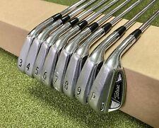 Used Titleist AP2 710 Forged Irons 3-PW DG HL S300 Stiff Flex Steel Golf Set