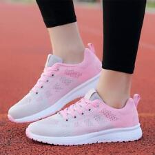 Casual Hot Sale Womens Shoes Breathable Sneakers Sport Running Athletic Flats NW