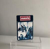 Oasis Cigarettes And Alcohol Cassette Tape Cigarette Packet Case Rare!