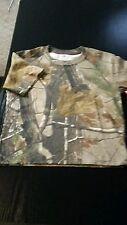 Boys Team Realtree Mossy Oak Tee Shirt Med (10-12)