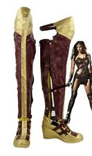 Batman v Superman Wonder Woman Diana Prince Cosplay Adult Shoes Boots