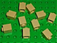 10 x tan LEGO brick 1x1 ref 3005 / set 10214 10193 4709 4757 10211 5378 10018...