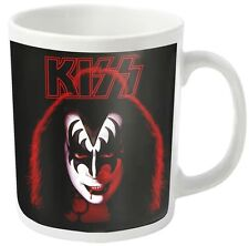 KISS - Gene Simmons / Demon - white - Tasse  Coffee Mug - Kaffeebecher - Neu