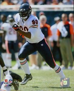 Julius Peppers Chicago Bears NFL Licensed Football Unsigned Glossy 8x10 Photo C