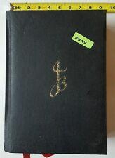 Salvador Dali The Jerusalem Bible Rare Black Cover 1970 Listed Artist HS
