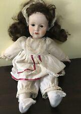 "Musical 16"" Porcelain Doll Marking K R 114 766 Pre owned Doll"