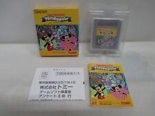 GB -- Tokyo Disneyland Fantasy Tour -- New!! Box. Game Boy, JAPAN Game. 20985