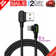 Lightning Bolt Smart Braided Fast Charging Cable Apple For iPhone USA New - 6 ft