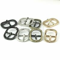 Zinc Alloy Middle Center Bar Buckle Strap Bridle Halter Harness Adjuster Buckle