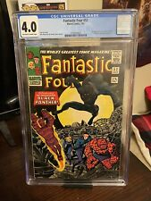 Fantastic Four #52 CGC 4.0!!! 1st App. of Black Panther! Under-graded!