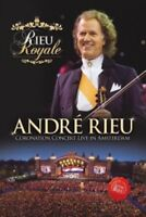 ANDRÉ RIEU - RIEU ROYALE-CORONATION CONCERT LIVE IN AMSTERDAM  DVD NEW+