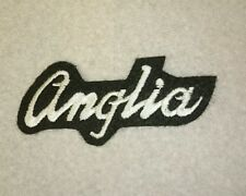 Brand new Ford Anglia british embroidery jacket iron on patch UK 2 TWO