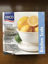 EKCO Kitchen Scale - Weighs Up To 5 Pounds - New in Box