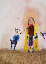 nabARus 270816-2  Encre sur papier -ink on paper -Outsider Art singulier13x18 cm